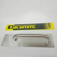 handle pintu/pull plate dolomite stainless LL123