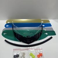 paket spoiler + tear off + post + talang air pnp nhk rx9