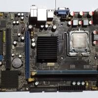 MOTHERBOARD / MOBO JW G41 LGA 775 DDR3 2GB VGEN+PROC. E6550 BEKAS