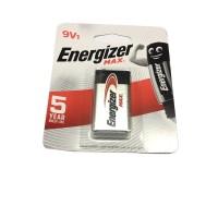 Batu Baterai Energizer Max 9V Alkaline Batere Battery kotak 9 volt