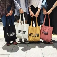 Tas Tote Bag Wanita Simple Elegan Shoulderbag import
