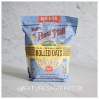 Bob s Red Mill Organic Gluten Free Rolled Oats 907g