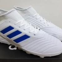 Sepatu Futsal Adidas Predator Tango 19.3 White List Blue -TURF
