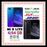 Xiaomi Mi 8 Lite 4/64 Gb - Ram 4 Gb Internal 64Gb - Mi8 - Black Global