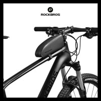 Rockbros As019 Mtb Bike Frame Front Tube Bag Pouch - Tas Sepeda