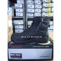 Sepatu Safety Jogger Tactical TROOPER S3 - Black/Hitam