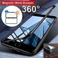 Magnetic Oppo F5, F7, F9 Case Magnet Premium Full Cover