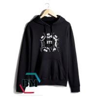 jaket sweater hoodie bts hip hop- high quality