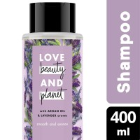 Love Beauty Planet Shampoo Argan Oil & Lavender 400ml