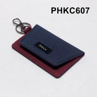 dompet stnk mobil motor gantungan kunci kain dua warna - PHKC607