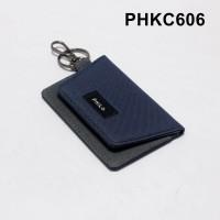 dompet stnk mobil motor gantungan kunci kain dua warna - PHKC606