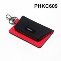 dompet stnk mobil motor gantungan kunci kain dua warna - PHKC609