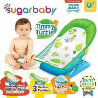 Sugar Baby Deluxe Baby Bather Timmy Turtle Kursi Mandi - Hijau