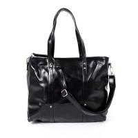 Beauty Gum Tote Bag Zaskia Zipper Black Basic Semi Ori Plus Tali Selem
