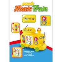 Ploopy - PP 21125 - Puzzle Music Train - Mainan Kereta Musikal