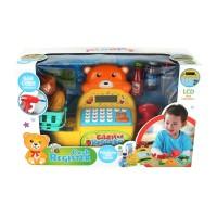 Ploopy - Cash Register with real calculator - Mainan kasir