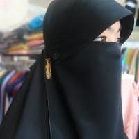 [Premium] Cadar Poni Kancing sifon arab