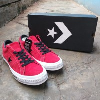Converse One Star OX Enamed Red Original