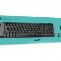 Ligitech Mouse Keyboard Wireless MK 220 Garansi Resmi