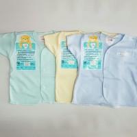 libby tangan pendek warna 3pcs newborn baju bayi kaos bayi
