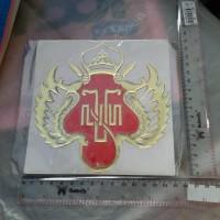 Sticker HOBO 3D Lambang Kraton Yogyakarta 15 cm x 15 cm