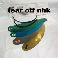 Paket Tear Off + Tear off post + Talang air NHK Terminator gp 1000 rx9