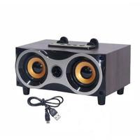 MUSIC BOX BLUETOOTH SPEAKER MP3 STANDING HP Kotak Musik Klasik FLECO