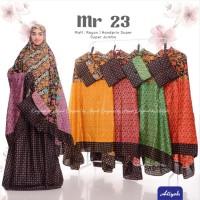 Mukena Dewasa Batik MR 23 Model Terbaru Ecer Grosir Katun by Aliyah