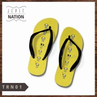 [WANITA] bt21 bts member 1 Sendal jepit cewek sandal murah flip flop