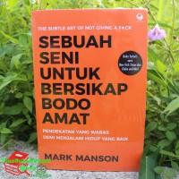 Buku SEBUAH SENI UNTUK BERSIKAP BODO AMAT Mark Manson ORI