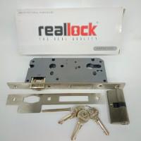 mortise lock realock/body kunci pelor 50mm+cyilnder realock bd191