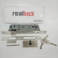 body kunci swing/rumah kunci swing 40mm+ cyilnder realock BD115