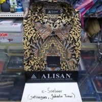 Kemeja batik Alisan lengan panjang original reguler fit uk 17,5