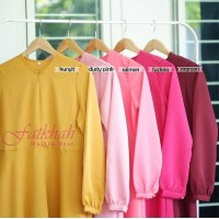 Gamis polos wolvis