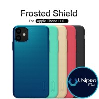"""Hard Case Nillkin Super Frosted Shield iPhone 11 6.1"""" Original Casing - Red"""