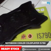 COOLING PAD LAPTOP/NOTEBOOK COOLER COLDPLAYER IS 790