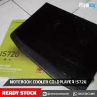 COOLING PAD LAPTOP/NOTEBOOK COOLER COLDPLAYER IS 720