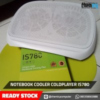 COOLING PAD LAPTOP/NOTEBOOK COOLER COLDPLAYER IS 780