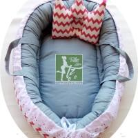 BabyNest Baby Nest Kasur Baby KasurBaby bayi KasurBayi retro fuchia
