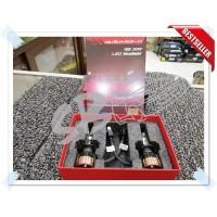 LED Autovision RS300 LED H7 30w 4200 Lumens 3 Warna Lampu Bohlam