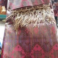 Kain Songket Asli Palembang tembaga