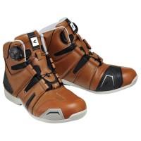 RS TAICHI RSS006 DRYMASTER Original Sepatu Touring Motor- Brown