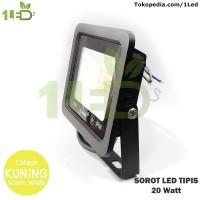 Lampu Sorot Tembak Kap LED TIpis Outdoor 20W 20 Watt Waterproof