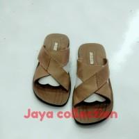 sandal pria kulit sapi Asli jc3