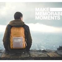 Foldable Travel Bag 20L / Folding Backpack / Tas Ransel Lipat 20 L