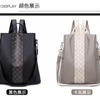 Tas Import RS110 / Tas Wanita / Tas Ransel Fashion Anti Maling Wanita