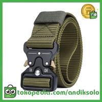 RHODEY Tali Ikat Pinggang Canvas Military Tactical 125cm - MU055 -