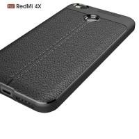 Case Casing Soft Case Auto focus xiomi REDMI 4X -Hitam