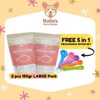 FREE 1 set sendok takar_ 300gr STARTER KIT/ Vitamin Anjing Kucing