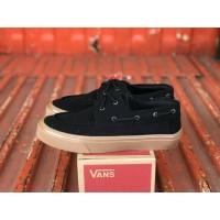 Sepatu Vans Zapato Black Gum Sneakers Pria Casual Import